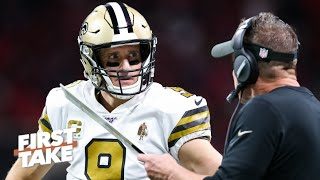 Are the Saints under the most pressure in the NFC playoffs? | First Take