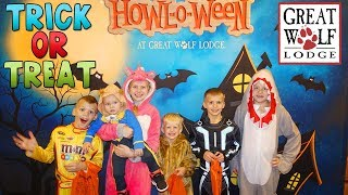 Halloween at Great Wolf Lodge - Trick-or-Treat, Swimming, Bowling, Arcade Games - Family Fun Pack