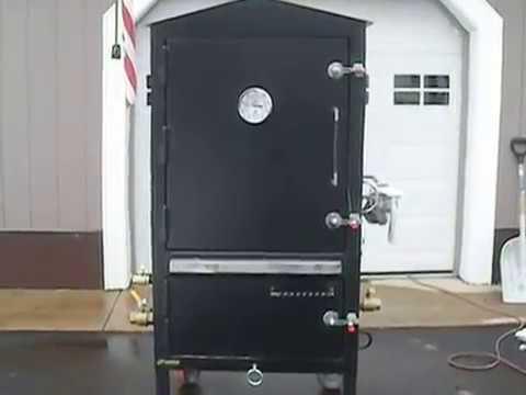 Homemade Insulated Vertical Smoker Youtube