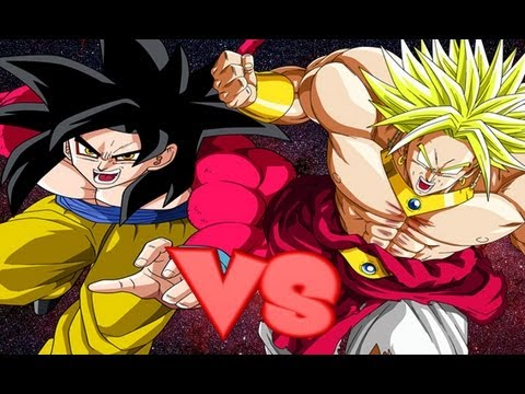 DBZ Budokai 3 HD - SSJ4 Goku vs Broly【FULL HD】 - YouTube