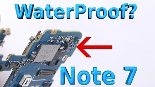 What makes the Note 7 Waterproof? Ultimate Test!!