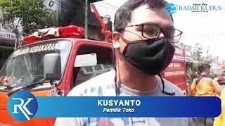Cerita Pemilik Toko yang Terbakar di Rembang, Lagi Makan saat Kebakaran