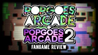 POPGOES Arcade 1 & 2 - Fangame Review