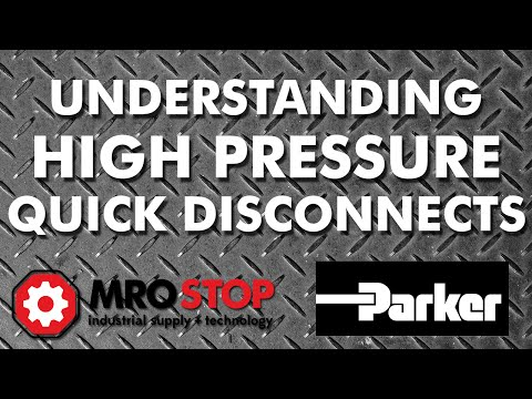 Understanding High Pressure Quick Disconnects