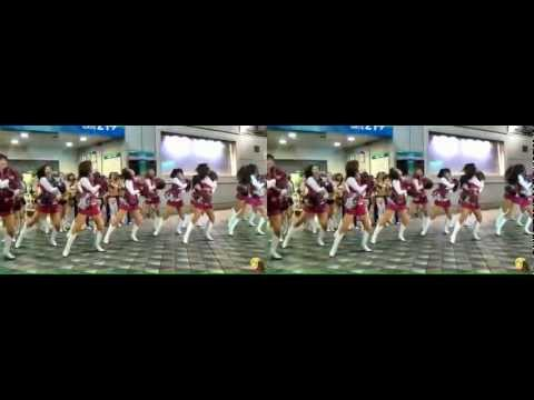 2011 JAPAN X BOWL WELCOME DANCE SHOW 3D (sidy by side Full)