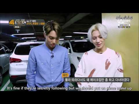 (ENG SUB) 140819  4Things Show TAEKAI cut 1/3 (Taemin, Kai)  cr. Blondiekai (KaiTaem)