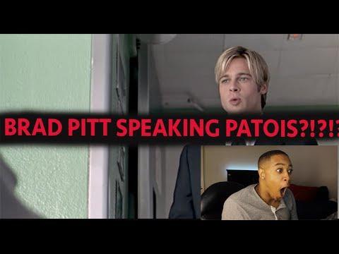 BRAD PITT SPEAKING PATOIS?!?!