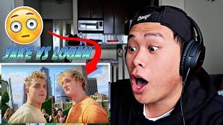 Jake Paul Vs. Logan Paul YouTube Rewind: The Shape of 2017 REACTION
