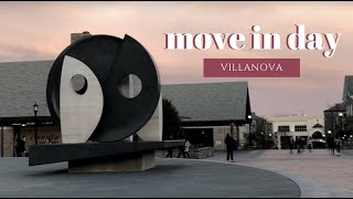 villanova move in day | vlog