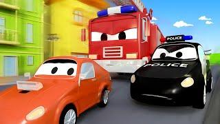 Tiệc sinh nhật bất ngờ của Frank - đội xe tuần tra 🚓 🚒 những bộ phim hoạt hình về xe tải