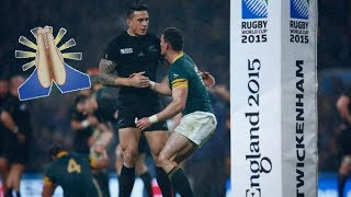 Moments Of Respect In Rugby