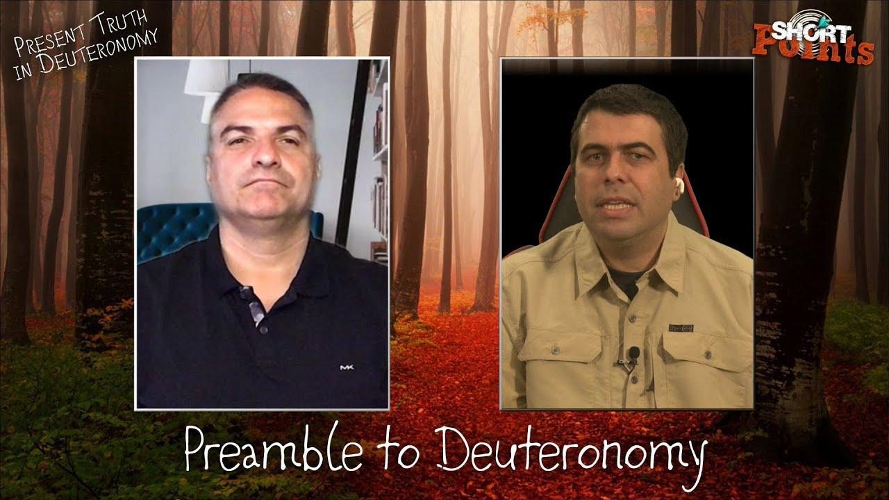 Preamble to Deuteronomy - Sabbath School Lesson 1, Q4, 2021
