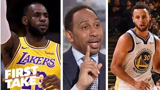Stephen A. standing by LeBron, Lakers making Western Conference finals | First Take | ESPN
