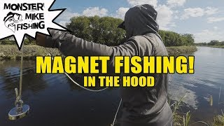 Magnet Fishing For Lost Treasure   Monster Mike