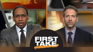 Stephen A. and Max react to Warriors defeating Rockets in Game 3 | First Take | ESPN