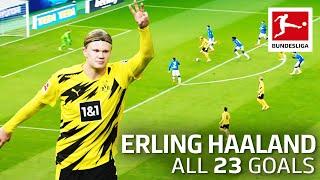 Erling Haaland – 23 Goals In Only 22 Bundesliga Games