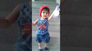 Baby accident funny video