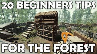 20 Beginners Tips for The Forest   Survival Game Guide