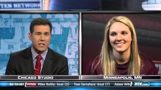 Amanda Kessel Women's Hockey Interview