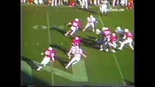 1984 Nebraska vs Oklahoma State Shane Swanson 49-yd Punt return with bonus radio audio