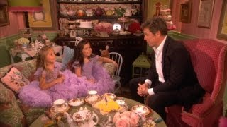 Sophia Grace & Rosie Do Tea with Hugh Grant