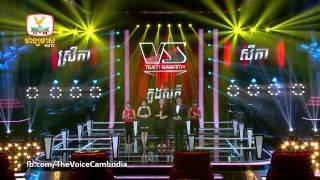 The Voice Cambodia Srey Ka VS Sophy VS Seyka 14 Sep 2014