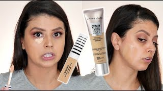 NEW!!! MAYBELLINE DREAM URBAN COVER FOUNDATION & COVERGIRL TRUBLEND UNDERCOVER CONCEALER | REVIEW