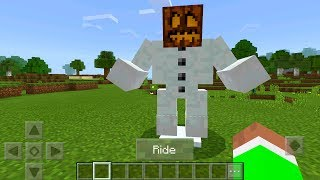 How to Ride Any Mob in Minecraft Pocket Edition (Mutant Creatures Addon)