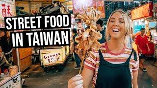 We Tried Taiwanese Street Food in Taiwan Night Market | Kaohsiung, Taiwan