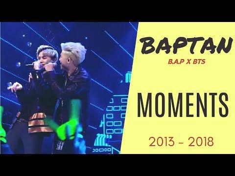 B.A.P x BTS Moments: 2013 -2018