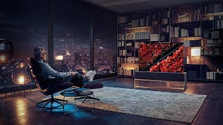 World's First Rollable Television - LG Signature OLED TV R
