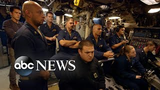 A rare look inside nuclear powered submarine USS Florida   Nightline