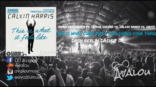 Armin van Buuren, Calvin Harris, DBSTF - This Is What CUBA Doing Your Thing [Dash Berlin Dashup]