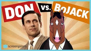 BoJack v. Don Draper - BoJack Horseman and Mad Men Matchup