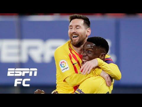 Osasuna vs. Barcelona reaction: Barca rooting for Real Madrid vs. Atletico?   ESPN FC