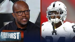 Torry Holt reacts to AB's ongoing helmet dispute, impact on Raiders | NFL | FIRST THINGS FIRST