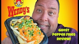 Wendy's® Ghost Pepper Fries REVIEW!