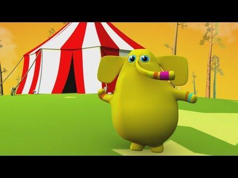 Un Elefante se Balanceaba - Rondas y Canciones Infantiles 3D