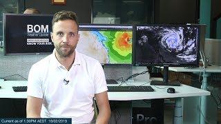 Weather Update: Hazardous surf, central and southeast Queensland coast 18 Feb. 2019