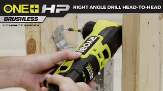 "Video: 18V ONE+ HP Compact Brushless 3/8"" Right Angle Drill"