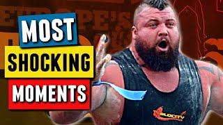 45 Greatest Holy S**T Moments in Strongman