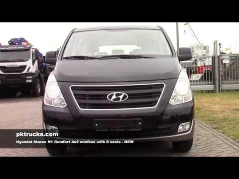 div3751 Hyundai Starex H1 4x2 minibus