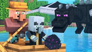 Villager vs Pillager Life 5 - Minecraft Animation