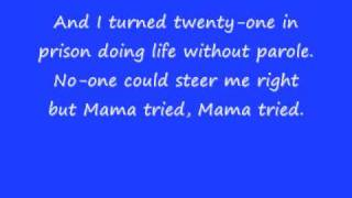 merle haggard mama tried w/ lyrics
