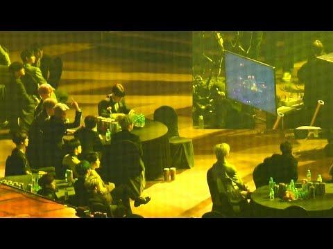여자친구(GFRIEND) 유주 고음에   방탄소년단(BTS),세븐틴 반응@190115 서울 가요대상 [ 4k Fancam/직캠