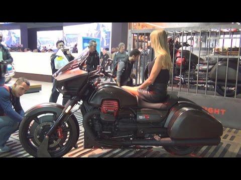 @MotoGuzziClub Moto Guzzi MGX-21 (2017) Exterior and Interior in 3D