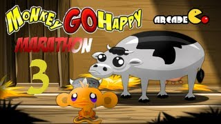 Monkey GO Happy Marathon 3 Walkthrough HD