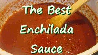 The Best Homemade Mexican Enchilada Sauce ~ Easy Enchilada Sauce Recipe