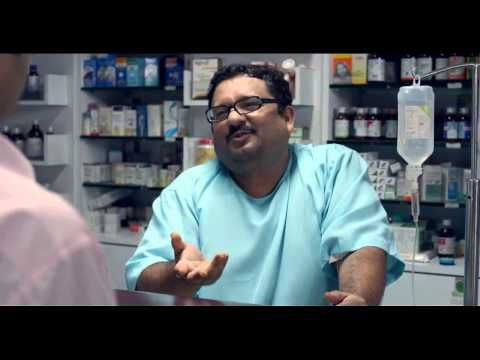A Working Patient in Chemist Shop