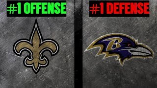 THE EDGE # 33 - New Orleans Saints @ Baltimore Ravens | No. 1 Offense Vs No. 1 Defense | Joe Noobo